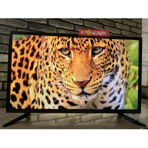 Телевизор Yuno ULX-32TCS226 - Заряженный Смарт телевизор с голосовым управлением и Онлайн-телевидением в Зелёном фото